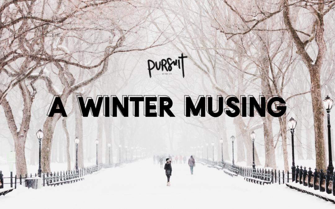 A Winter Musing